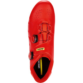 Mavic Cosmic Pro Shoes fiery red/fiery red/black